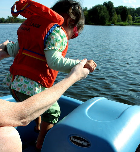 pedal boating on dow's lake