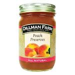Dillman Farm 20561 Peach Preserves 16 oz - pack of 6