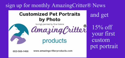 Pet Painting Pricing- coupon inside