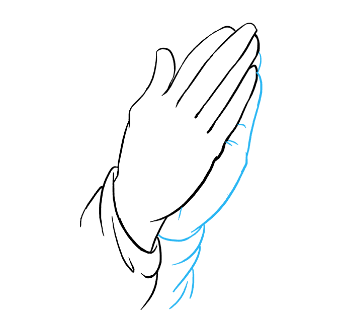 Newest For Prayer Praying Hands Drawing Easy