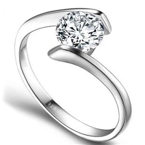 2017 new arrivals 925 sterling silver super shiny CZ
