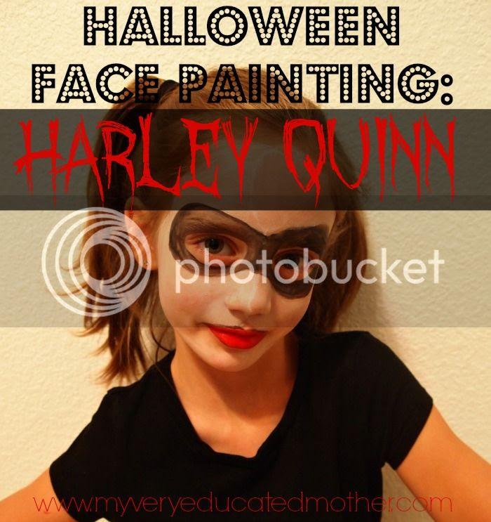 #Halloween #facepaintHOA #comicbook #villlain #HarleyQuinn