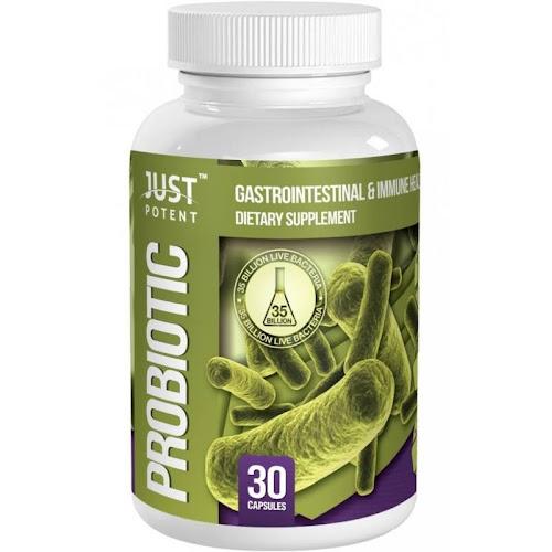 Just Potent Probiotic Supplement :: 35 Billion CFUs per Capsule :: 8 Powerful An