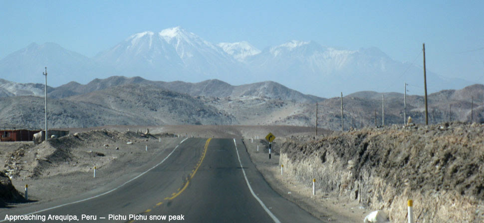 outside Arequipa