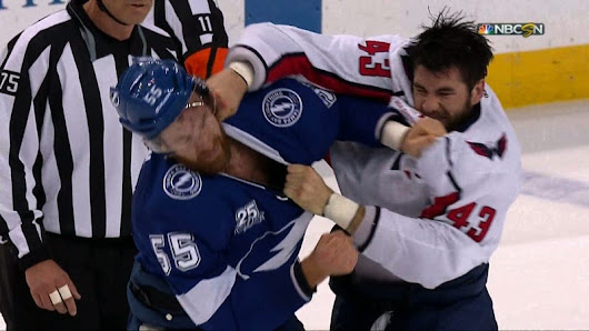Braydon Coburn Made The Mistake Of Trying To Fight Tom Wilson
