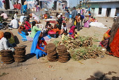 Gobhar As Fuel for Cooking Food for the Poor Devotees by firoze shakir photographerno1