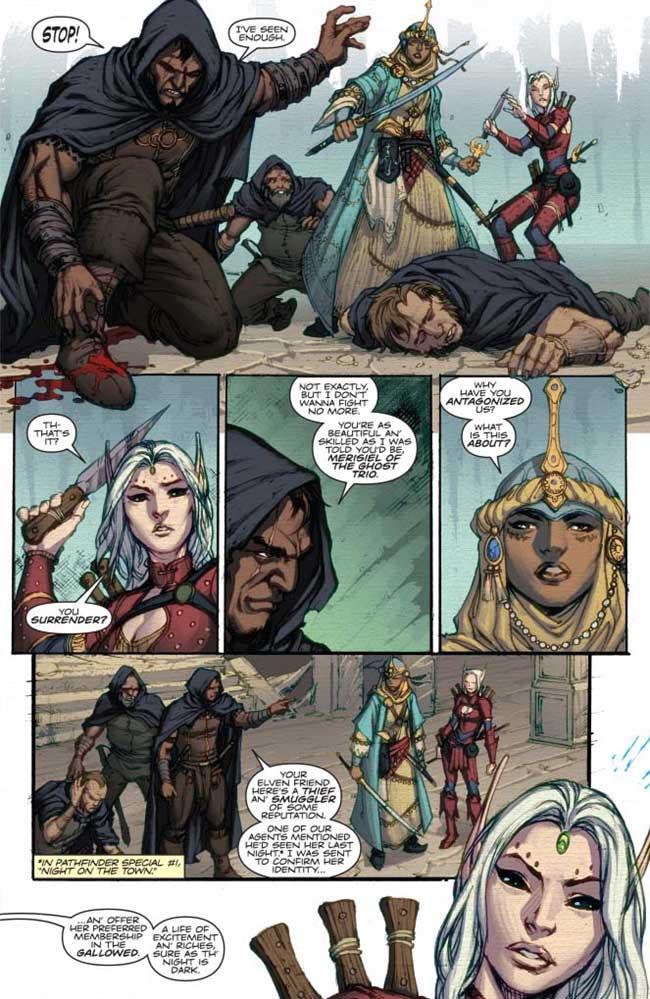 SNEAK PEEK: Pathfinder: City of Secrets #2 — Major ...