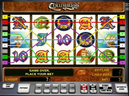 Free Columbus online slot without registration