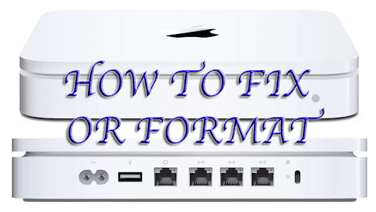 How to repair or format Time Machine or Time Capsule (Apple) | Livets små ting