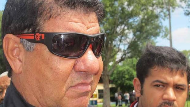 Joel em treino flamengo (Foto: Richard de Souza / globoesporte.com)