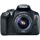 Canon Eos Rebel T6 DSLR Camera w/ EF-S 18-55mm is II and EF 75-300mm F4-5.6 III Lenses