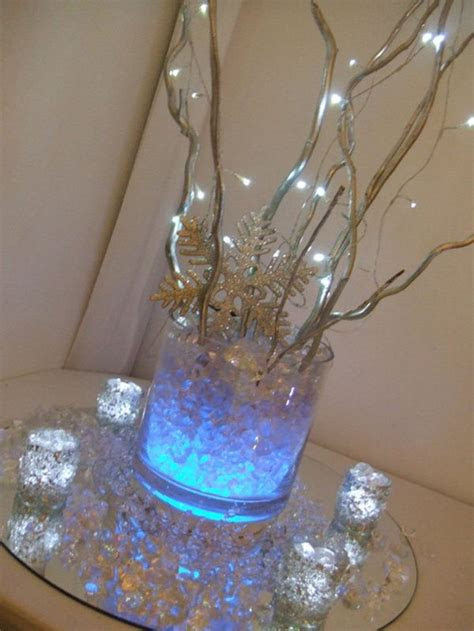 elegant christmas centerpiece trends   led lights