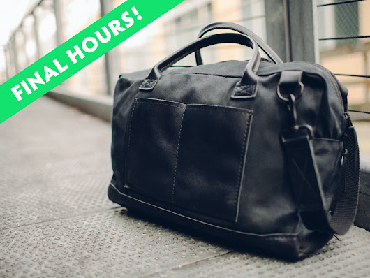 The Companion Bag by Fang & Hoof - Made in the USA by Benjamin Roedel —  Kickstarter