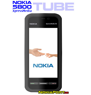 Nokia Tube remastered, could be Nokia 5800 XpressMedia