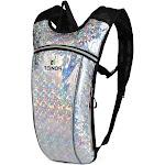 Alta Lightweight 2 Liter Water Bladder Active Running and Hiking Backpack, Diamond