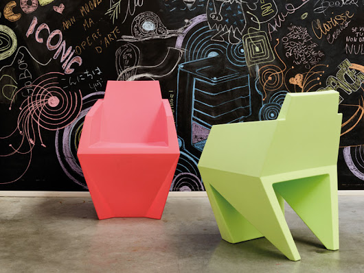 karim rashid: gemma chair + oskar mirrors for B LINE - designboom | architecture & design magazine