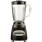 Brentwood 12-speed Countertop Blender With Glass Jar (black) (pack of 1 Ea)