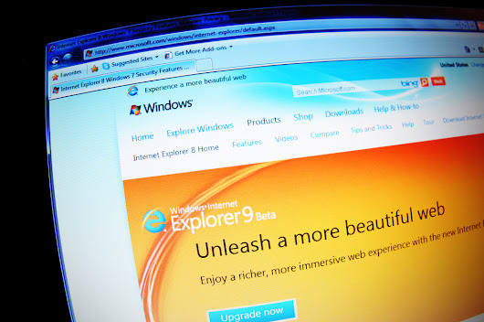 Internet Explorer 8, 9 and 10 die on Tuesday
