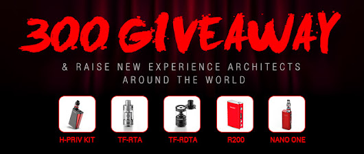 300 newest products giveaway & Raise New Experience Architects around the world