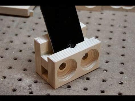 wooden speaker dock youtube