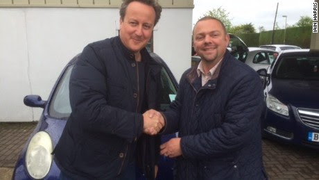 UK PM Cameron buys used Nissan Micra for wife