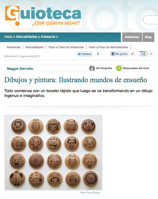 Article on Guioteca