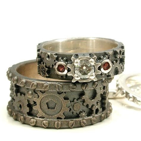 20  best ideas about Gear Ring on Pinterest   Steampunk