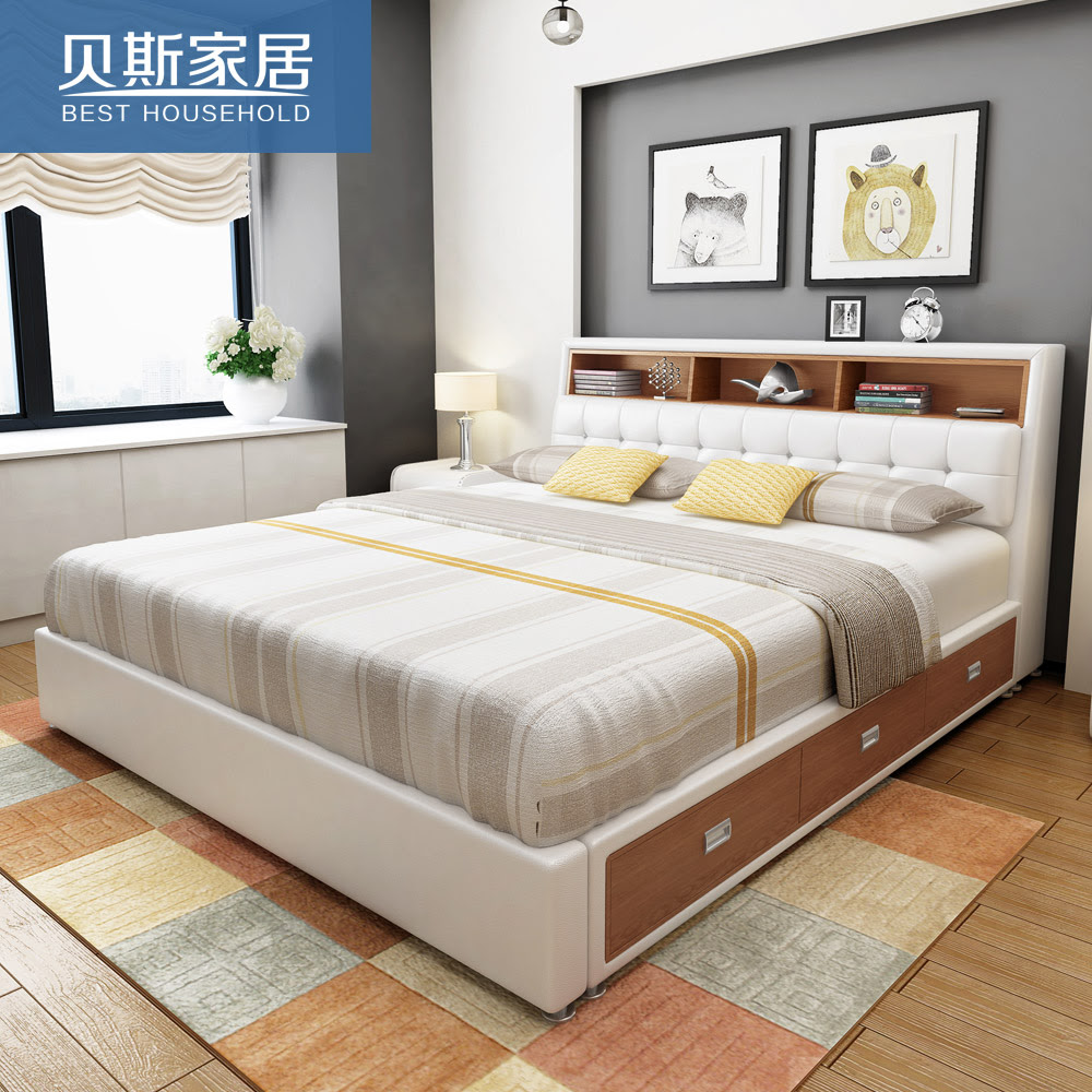 Double Bed With Box Design Htprofilecom