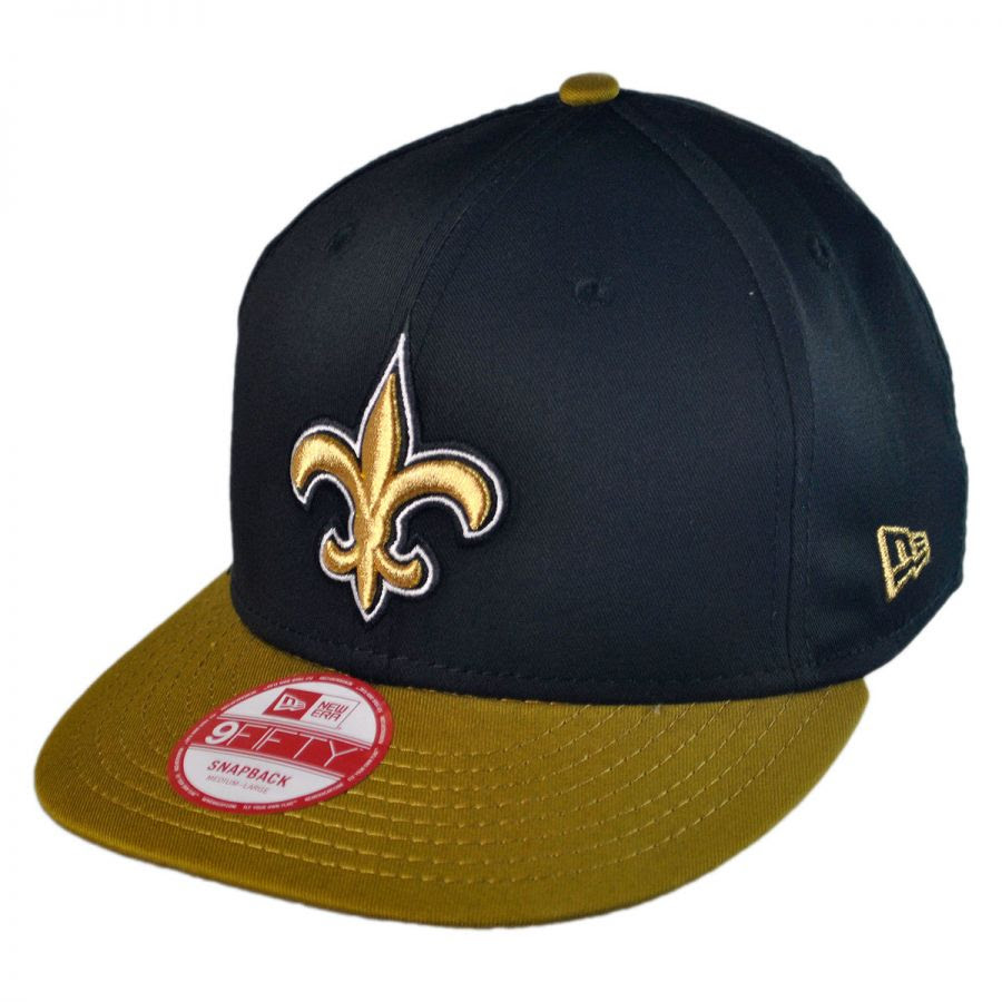 New Era New Orleans Saints NFL 9Fifty Snapback Baseball Cap NFL Football Caps