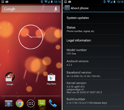 HTC One Google Edition ROM available for rooted users | MobileSyrup.com