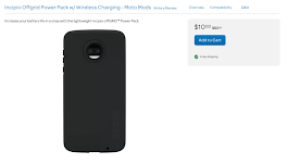 [Deal Alert] Pick up the Incipio Offgrid Power Pack Moto Mod from AT&T for just $10 ($70 off)