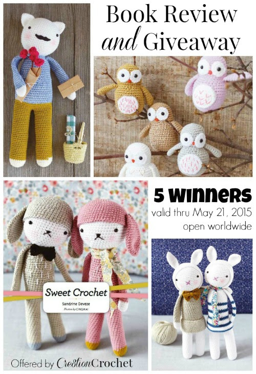 Sweet Crochet Review and Giveaway - Cre8tion Crochet