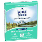 Natural Balance L.I.D. Limited Ingredient Diets Green Pea & Chicken Dry Cat Food, 10-lb