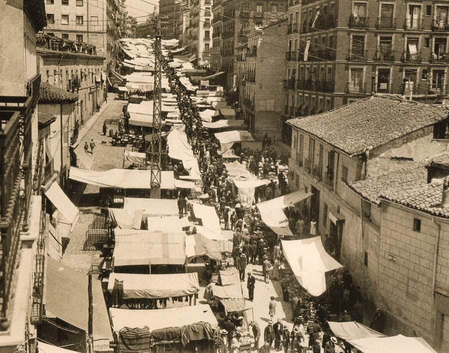Vintage Spain Madrid Rastro