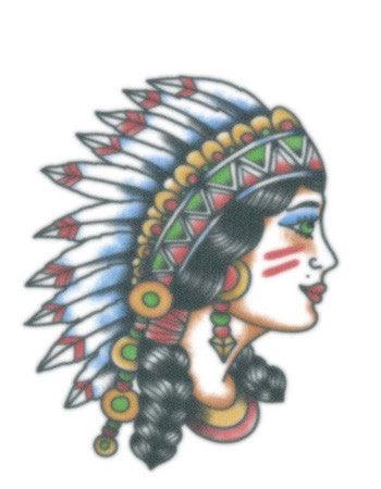 Vintage Native Girl Tattooednow Ltd