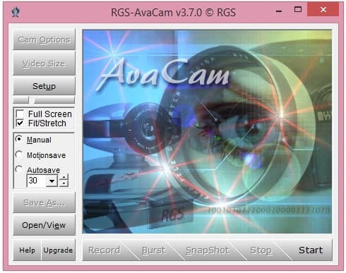 AVACAM Windows Web Camera Viewer and Recorder |