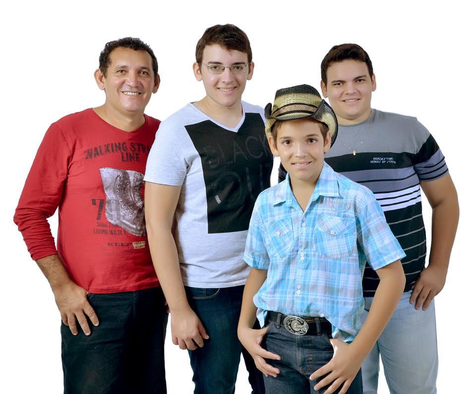 Bené, Luiz Guilherme, João Pedro e Heitor Augusto
