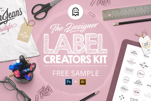 The Designer Label Creators Kit - Free Sample - Graphic Ghost