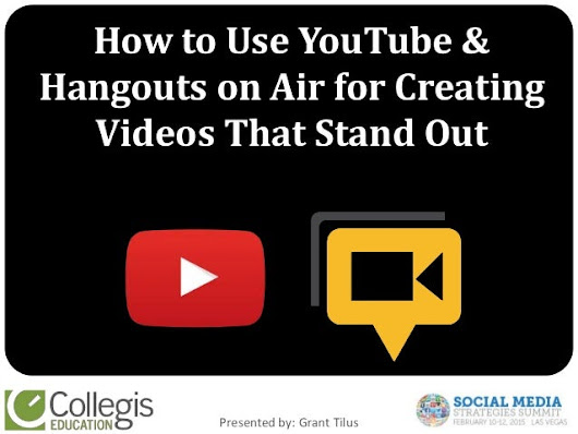 How to Use YouTube & Hangouts on Air for Creating Videos That Stand O…