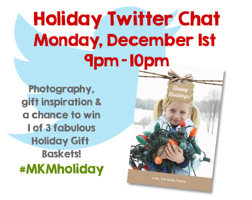 My Kodak Moments  Holiday Twitter Chat & Giveaway