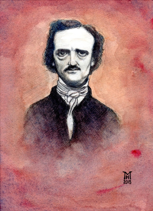 Poe by TheArtofMarkRHansen on Etsy