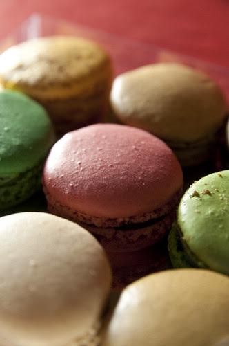 "Macarons, Franck Fresson, 新宿伊勢丹 ""フランス展"""
