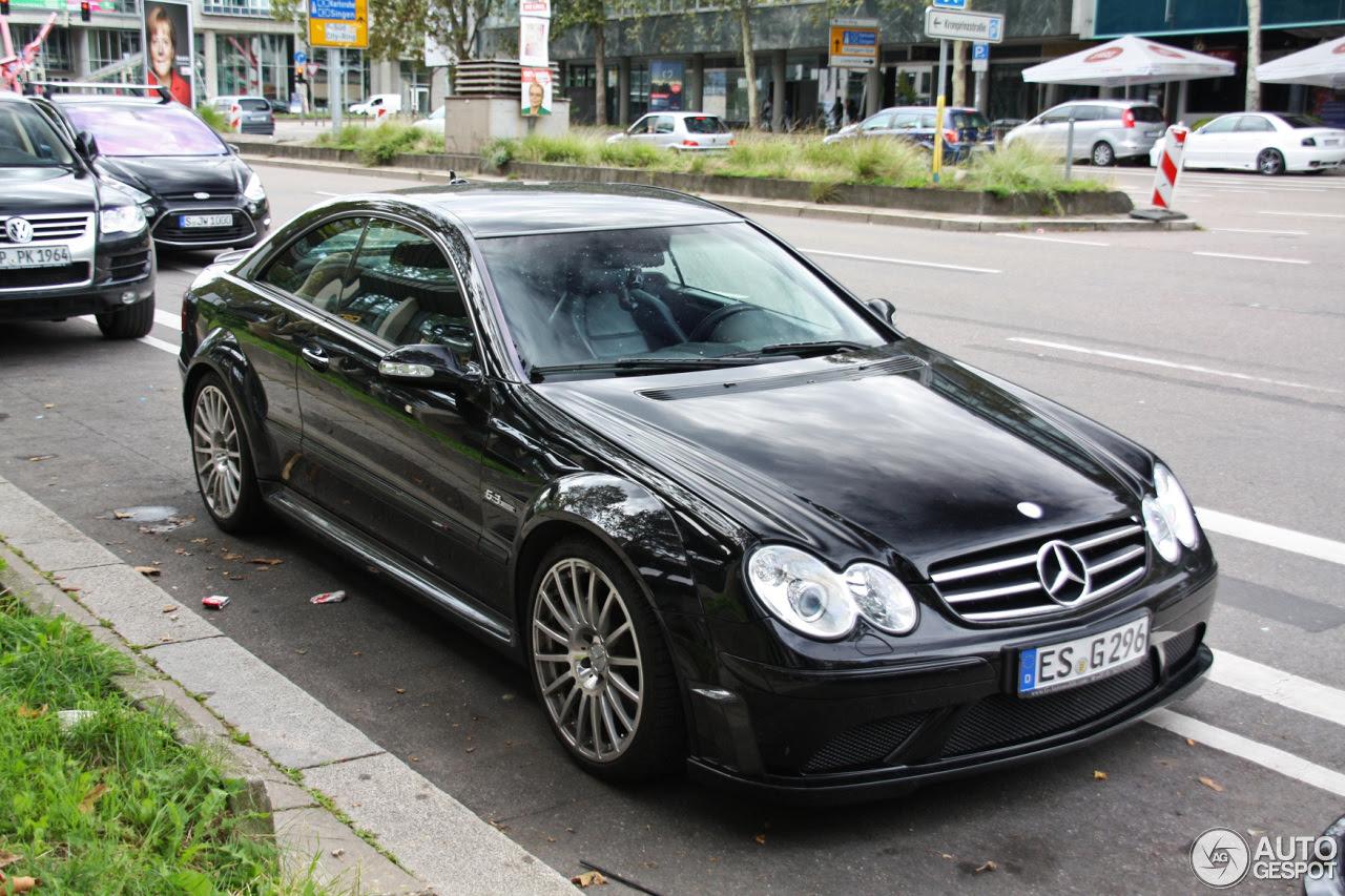 Mercedes-Benz CLK 63 AMG Black Series - 21 September 2013 ...