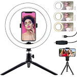WillstarLED Ring Light with Stand Makeup Video/Photography