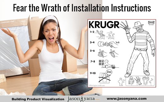 3 Horror Stories of Bad Installation Instructions – Save Your Building Material Customers! | Visual Construction Marketing by Jason Yana