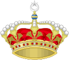 Heraldic Royal Crown of Egypt.svg