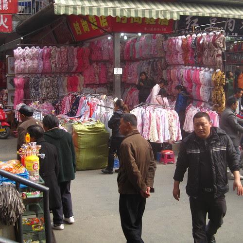 Pink for sale, Lotus Market, Chengdu