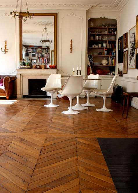 10 gorgeous wood floor designs - I Heart Nap Time
