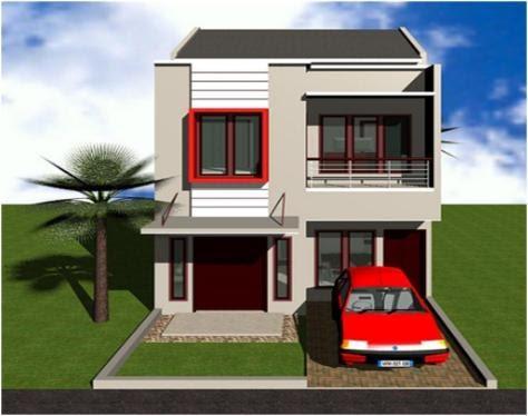 37+ desain tampak depan rumah minimalis lebar 6 meter