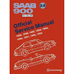 SAAB 900 16 Valve Official Service Manual - by Bentley Publishers (Hardcover)